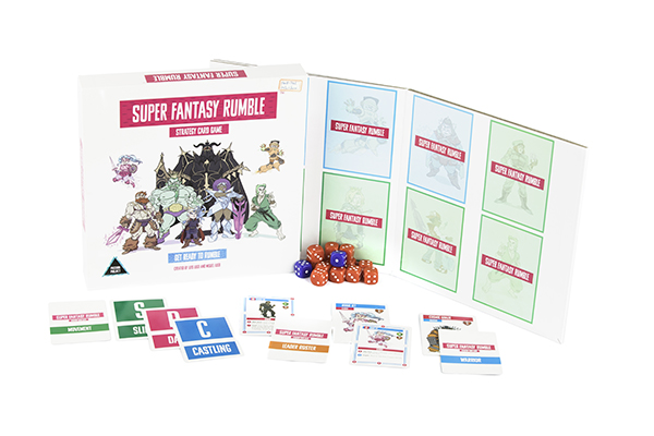 Super Fantasy Rumble Strategy Game